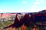 Geologic phenomena and natural wonders of Colorado National Monument