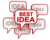 Best Idea Concept