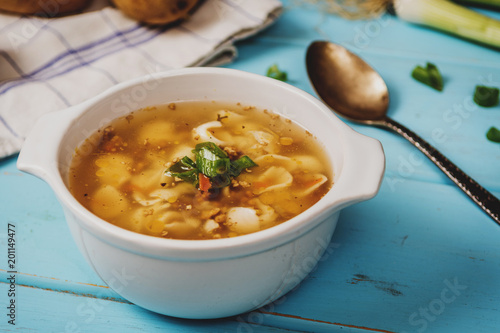 Czech homemade soup - 201149477