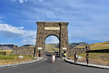 Roosevelt Arch, Yellowstone National Park, Architecture, Montana, Landmarks - 201152852