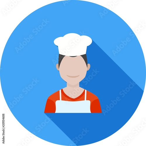 Chef Male Icon