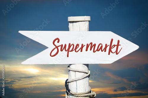 Schild 317 - Supermarkt