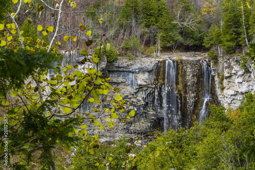 scenic view of eugenia falls in ontario canada