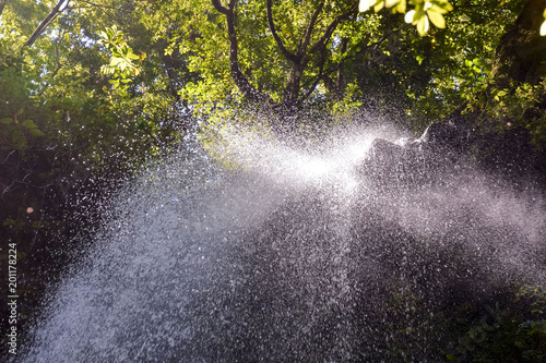 Photo Picture of a Beautiful Water Splash Waterfall - 201178224