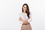 Portrait of a smiling asian businesswoman - 201196222