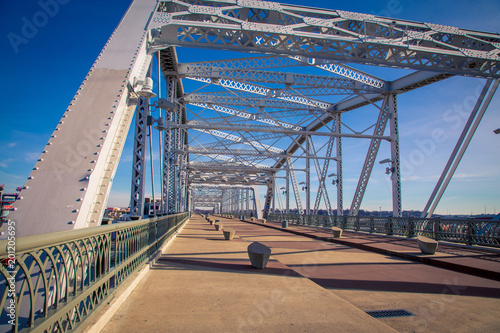 Walking bridge in Nashville Tennessee