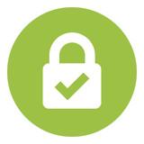 Web Security Lock Icon - 201214294