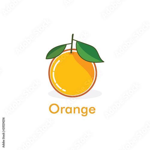oranges fruit icon vector logo - 201214216