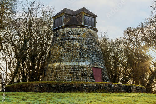 Foto Murales Tower Mill  - East Knoyle in Wiltshire - early morning