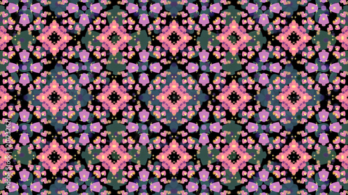 An abstract pattern. Kaleidoscope - 201232621