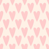 seamless love heart pattern - 201244295