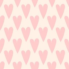 seamless love heart pattern