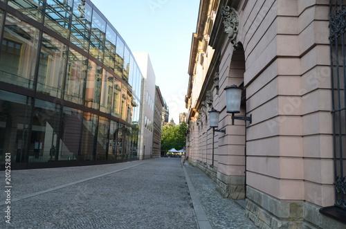 Aluminium Smalle straatjes Berlín