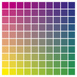 Color chart magenta yellow cyan print production color guide tints catalog