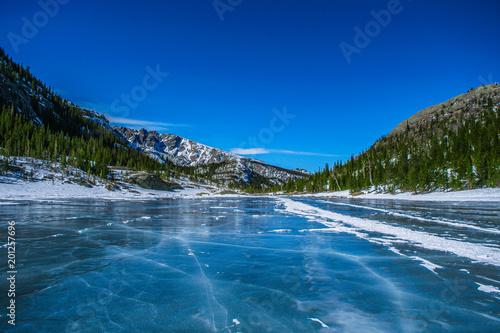 Foto op Plexiglas Donkerblauw Wilderness in Colorado