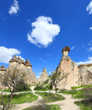 Cappadocia: Amazing natural volcanic rock formations in Monks Valley - Turkey