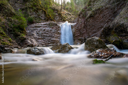Mittlerer Wasserfall in der Schleifmühlklamm - 201269644