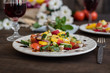 Fresh healthy organic vegetables. Food background - 201277636