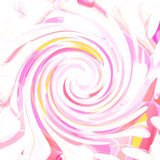 Retro pink painted swirl of pastel colors background with colorful pink red and yellow tones