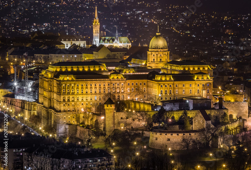 Buda Castle, Matthias Church - Budapest Hungary