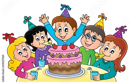 Kids party topic image 1 - 201327064