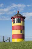Deutschland, Niedersachsen, Ostfriesland, Krummhörn, der Leuchtturm von Pilsum.