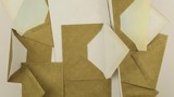 Rotating composition of the various type of the envelopes, background  - 201342861