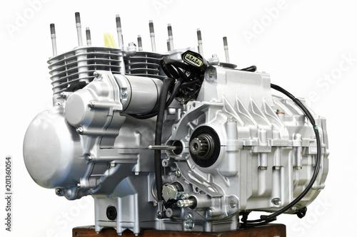 大型バイクのエンジン整備