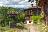 Houses of the nineteenth century in historical town of Kotel, Sliven Region, Bulgaria - 201374644