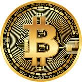Shiny golden bitcoin - 201376059