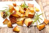roasted potato and rosemary - 201384639