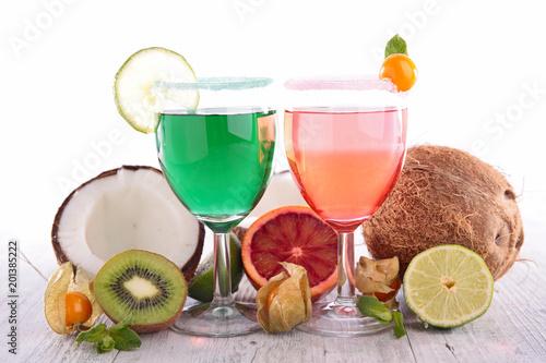 Foto Murales summer fresh drink, cocktail