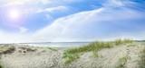 Spuren im Sand an der Ostsee - 201398826