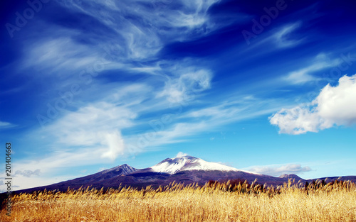 clouds mountain
