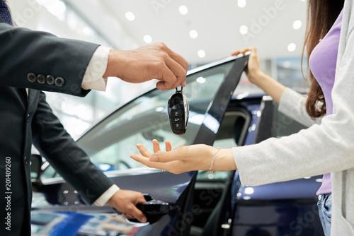 Receiving keys