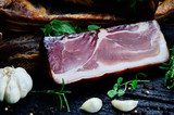 smoked meat on table - 201414664