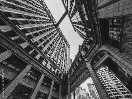 Canvas Chicago I walk the skywalk