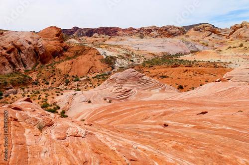 Poster Oranje eclat Valley of fire
