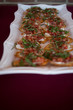Bruschetta Isolated on a White Plate - 201435267