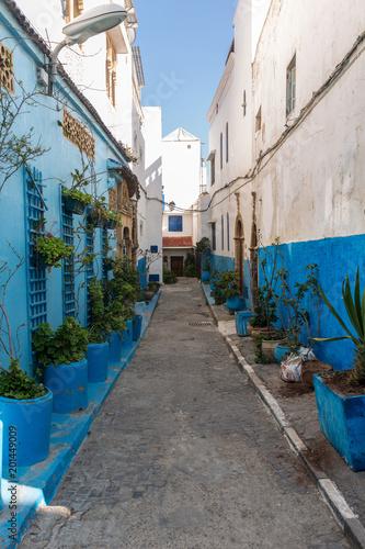 Wall mural Small street