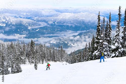Foto Murales Ski in Whistler Canada , Beach in WA