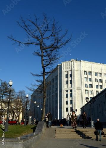 Foto op Plexiglas Moskou Moscow. Arbat Gate Square