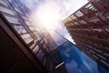 multiple office towers - 201463825
