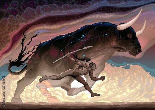Plexiglas Kinderkamer The power of Taurus