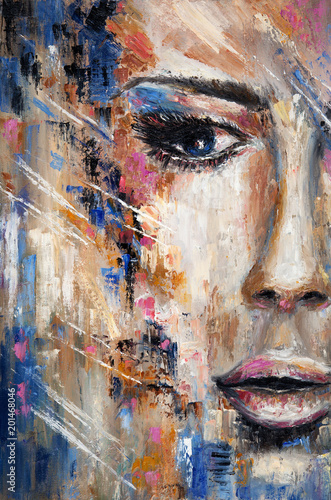 Abstract woman - 201468046