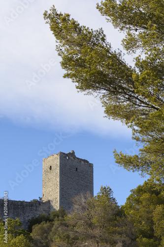 Sticker Castillo de Pulpis. Castellón. España