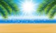 Hintergrund Strand Sonne - 201470009