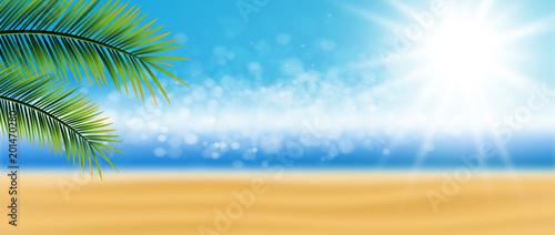 Hintergrund Strand Sonne - 201470280
