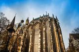 landmark Aachener Dom in Aachen, Germany, Europe - 201521631