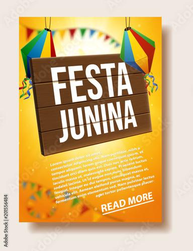 festa junina background holiday